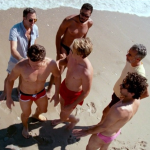 with Mark Ruffalo, Jonathan Groff, Taylor Kitsch, Joe Mantello, & Frank DeJulio