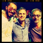 with Mark Ruffalo & Joe Mantello